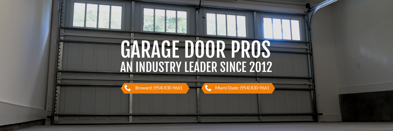 Garage Door Repair Company in Cooper City