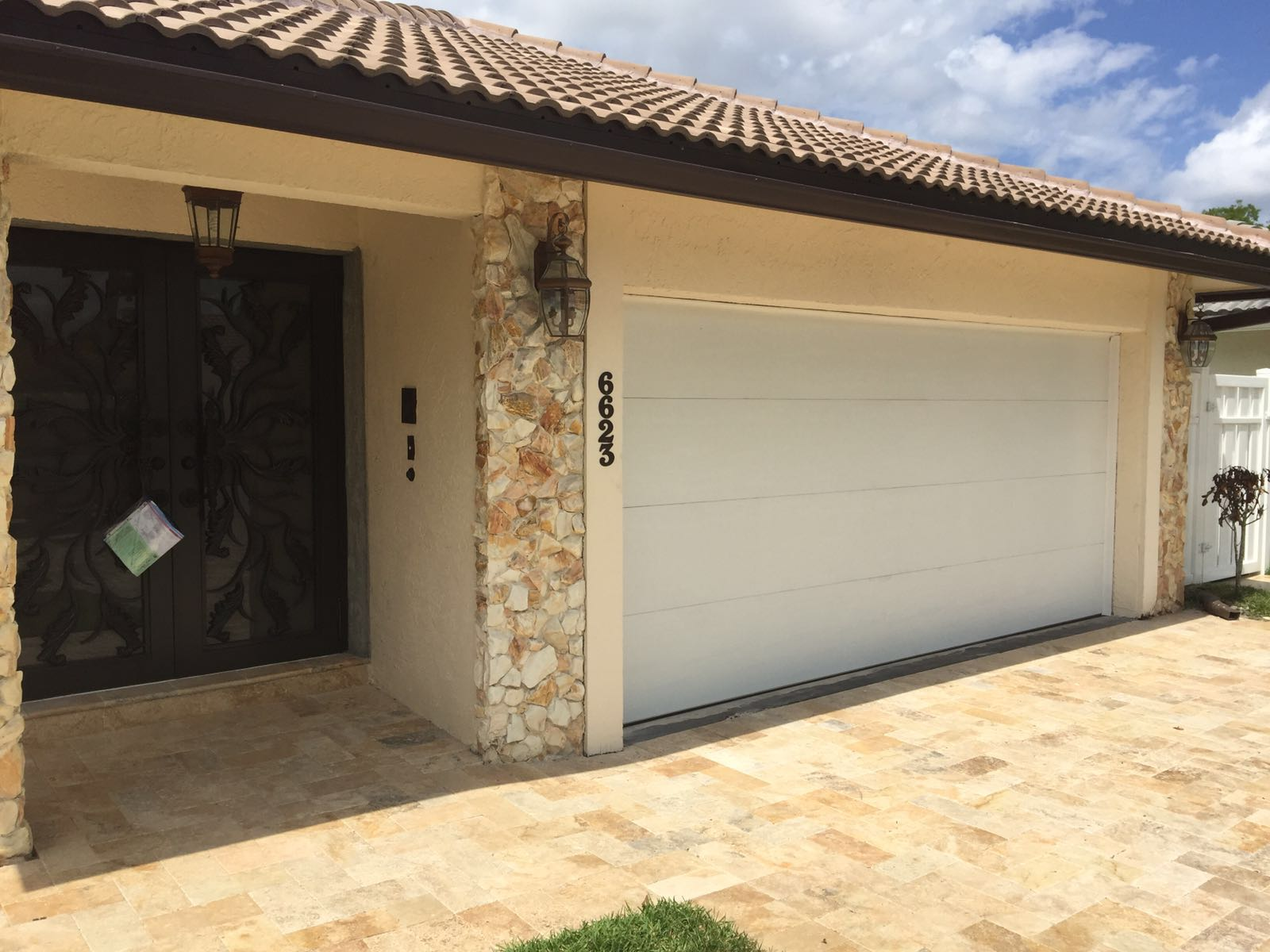 Garage door repair plantation fl dandk organizer for Garage motor installation cost