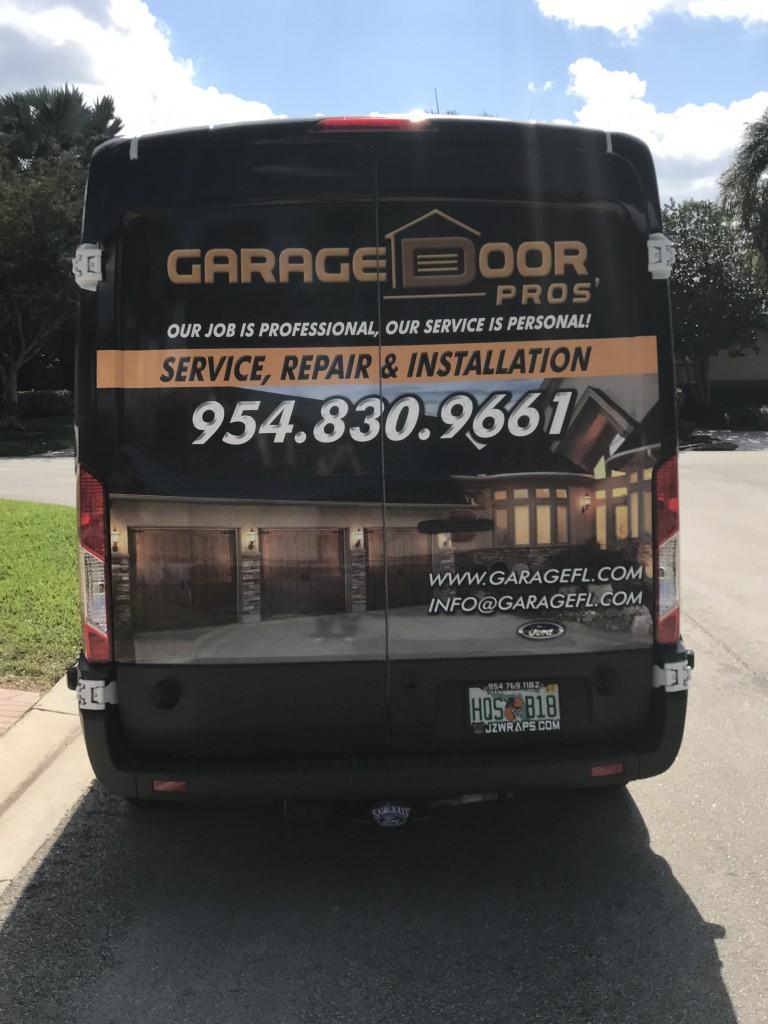 garage door repair in Weston