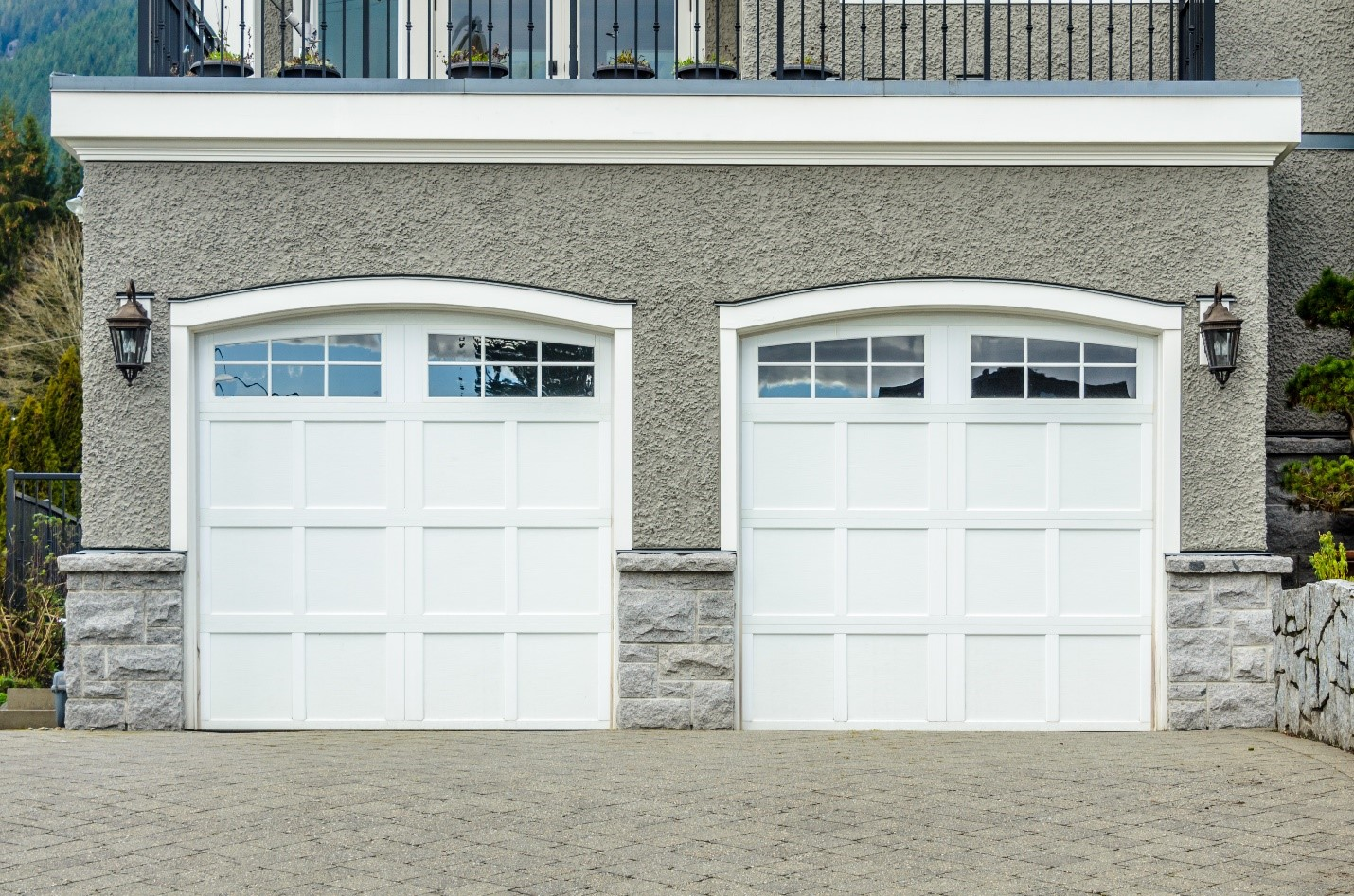 Replacement vs. Garage Door Repair in Weston