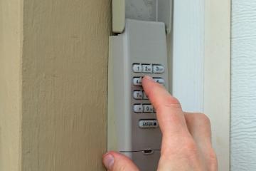 Garage door opener security