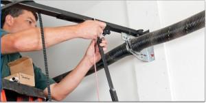 Securing garage door from burglary