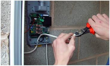 Garage door sensor bypass