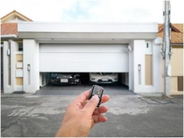 Keyless Entry Garage Door
